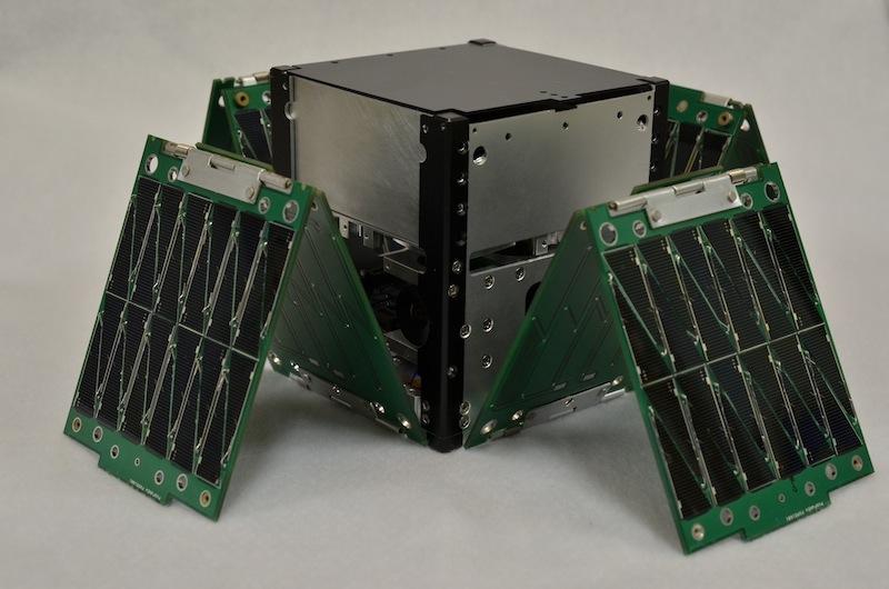 SkyCube CubeSat satellite