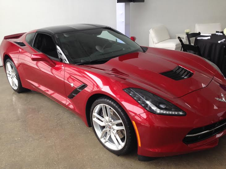 The 2015 Chevy Corvette, powered by AT&T's 4G network