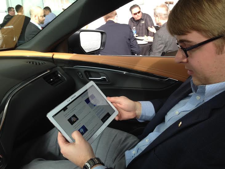 Wi-Fi hotspot in the Impala