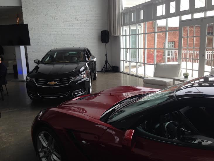 2015 Corvette and Impala with 4G