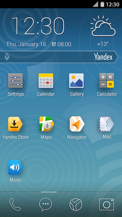 YandexKit homescreen full