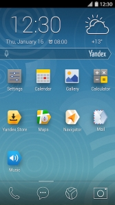 YandexKit homescreen full