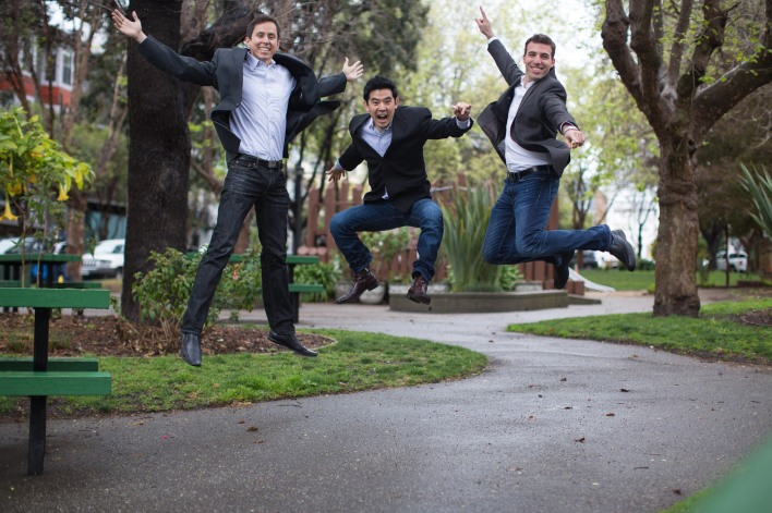 ZenPayroll founders (l to r) Joshua Reeves, Edward Kim, Tomer London,