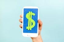 Smartphone dollar, mobile data revenues