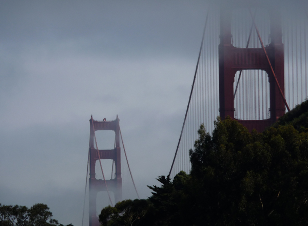 View from Cavallo Point, North of San Francisco.