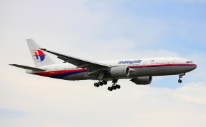 A Malaysian Airlines Boeing 777