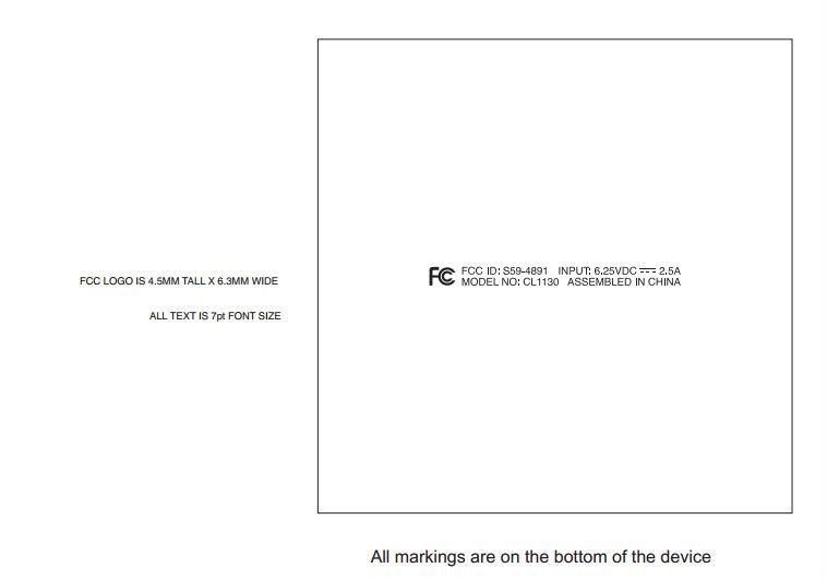 ailen llc fcc filing label