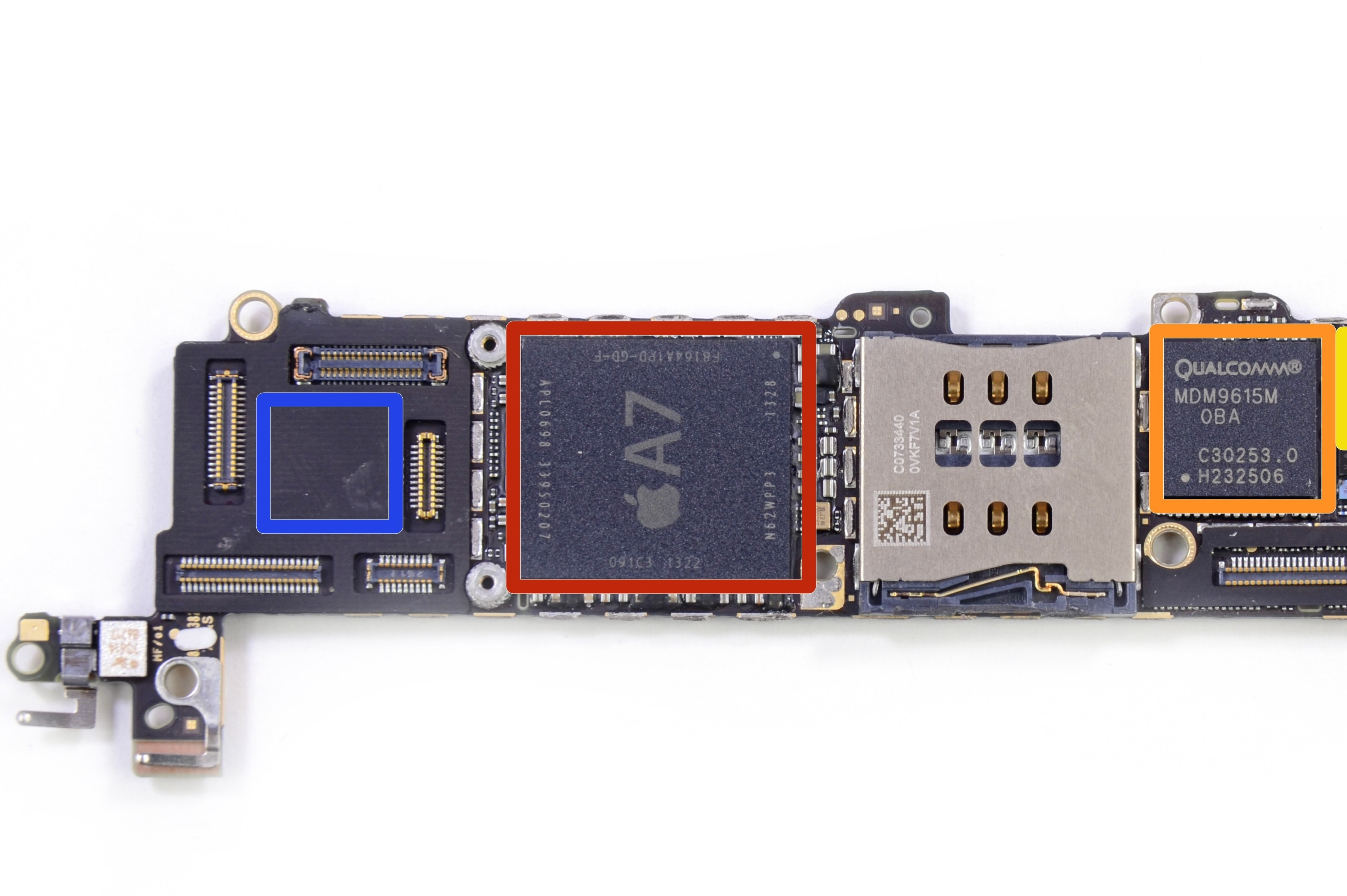 Apple iPhone 5s motherboard