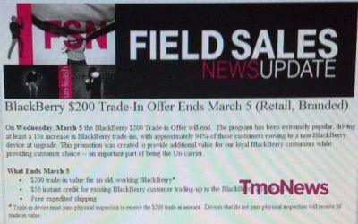 blackberry trade details march 2014
