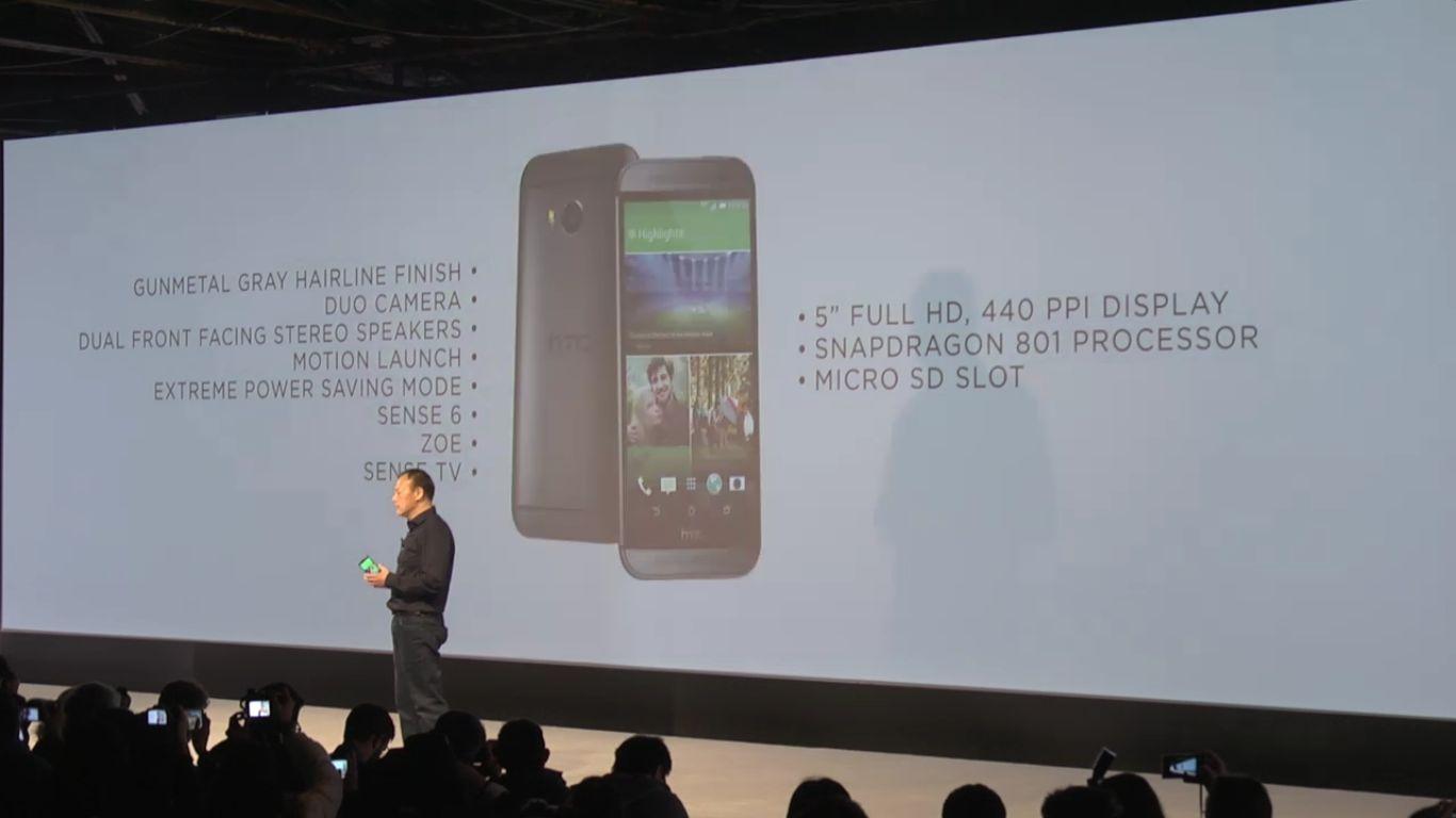 Chou HTC One M8