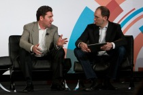 Colin Coleman, Turner Broadcasting System; Mike Dauber, Battery Ventures; Structure Data 2014
