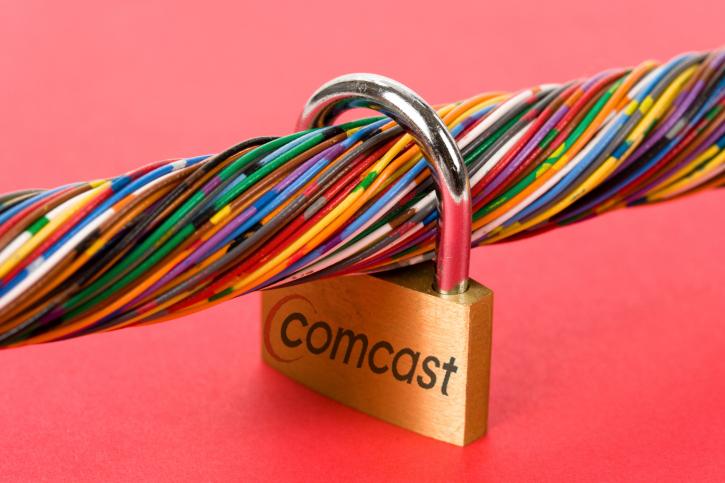 Comcast data lockdown