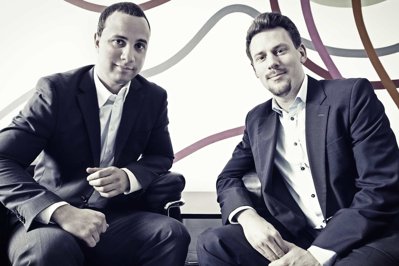 Companisto co-founders Tamo Zwinge and David Rhotert