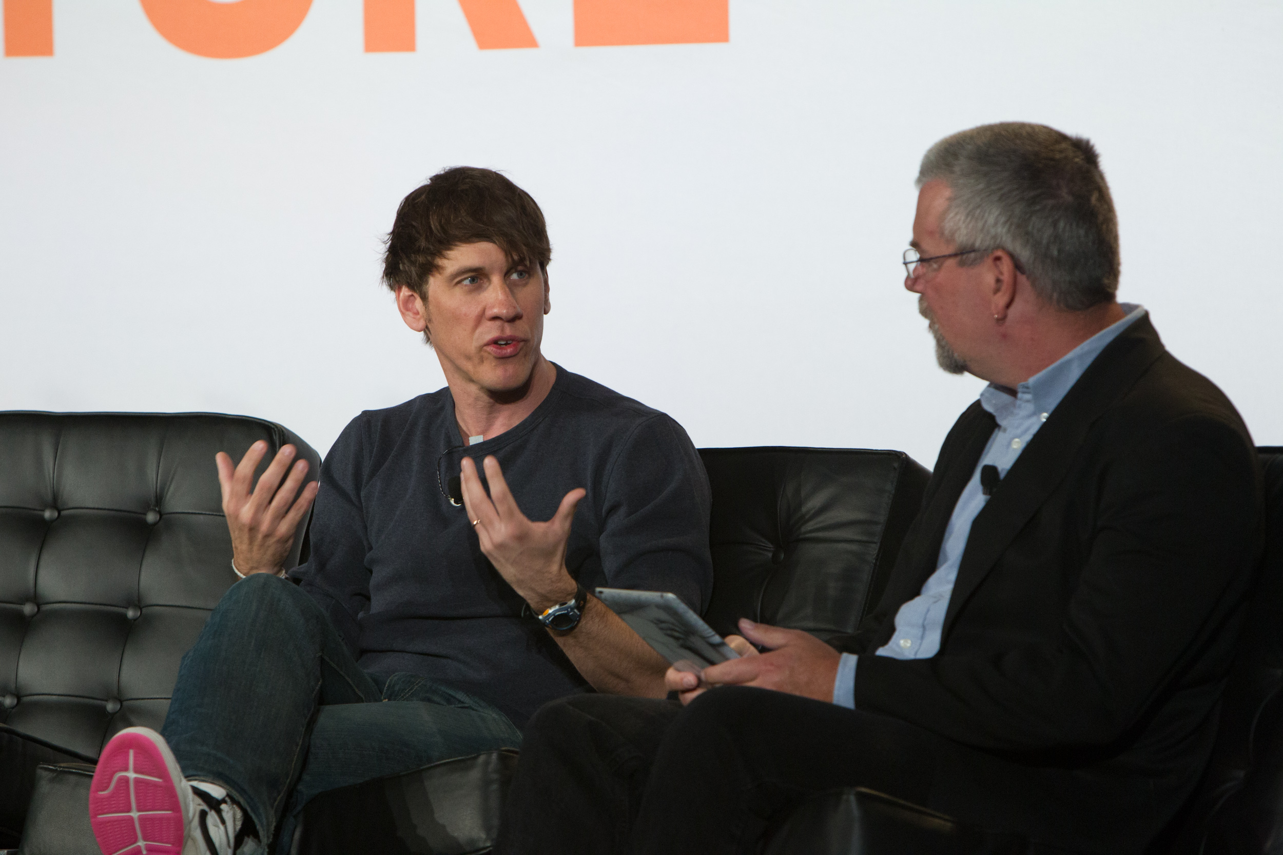 Dennis Crowley, CEO, Foursquare Structure Data 2014