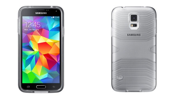 Galaxy S5 plastic case