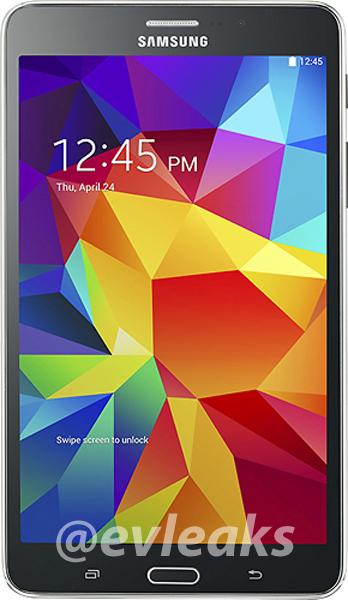 Galaxy Tab 4 black