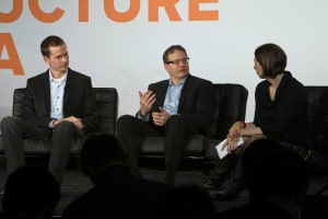 Elliot Turner — CEO, AlchemyAPI; Stephen Gold, Watson Solutions, IBM Software Group. Structure Data 2014