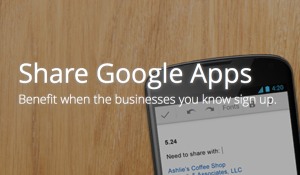 Google Apps referral