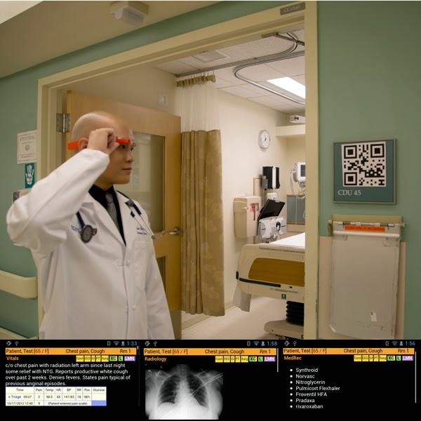 Google Glass ER doctor