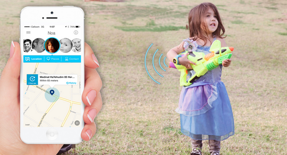 Meet hereo a colorful gps watch with kids in mind gigaom Kids in mind
