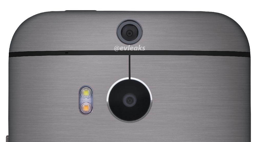 HTC One dual camera leak