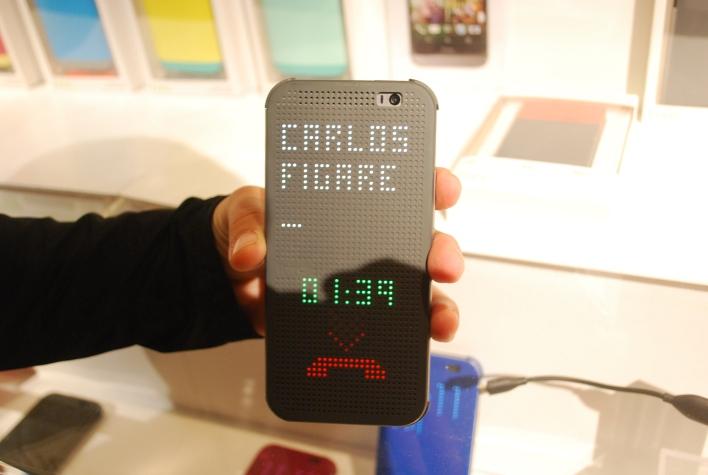 HTC One M8 dot case