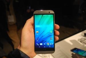 HTC One M8 home screen