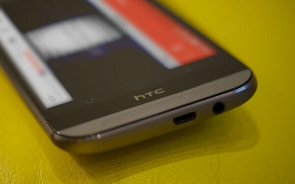 HTC One M8 speakers