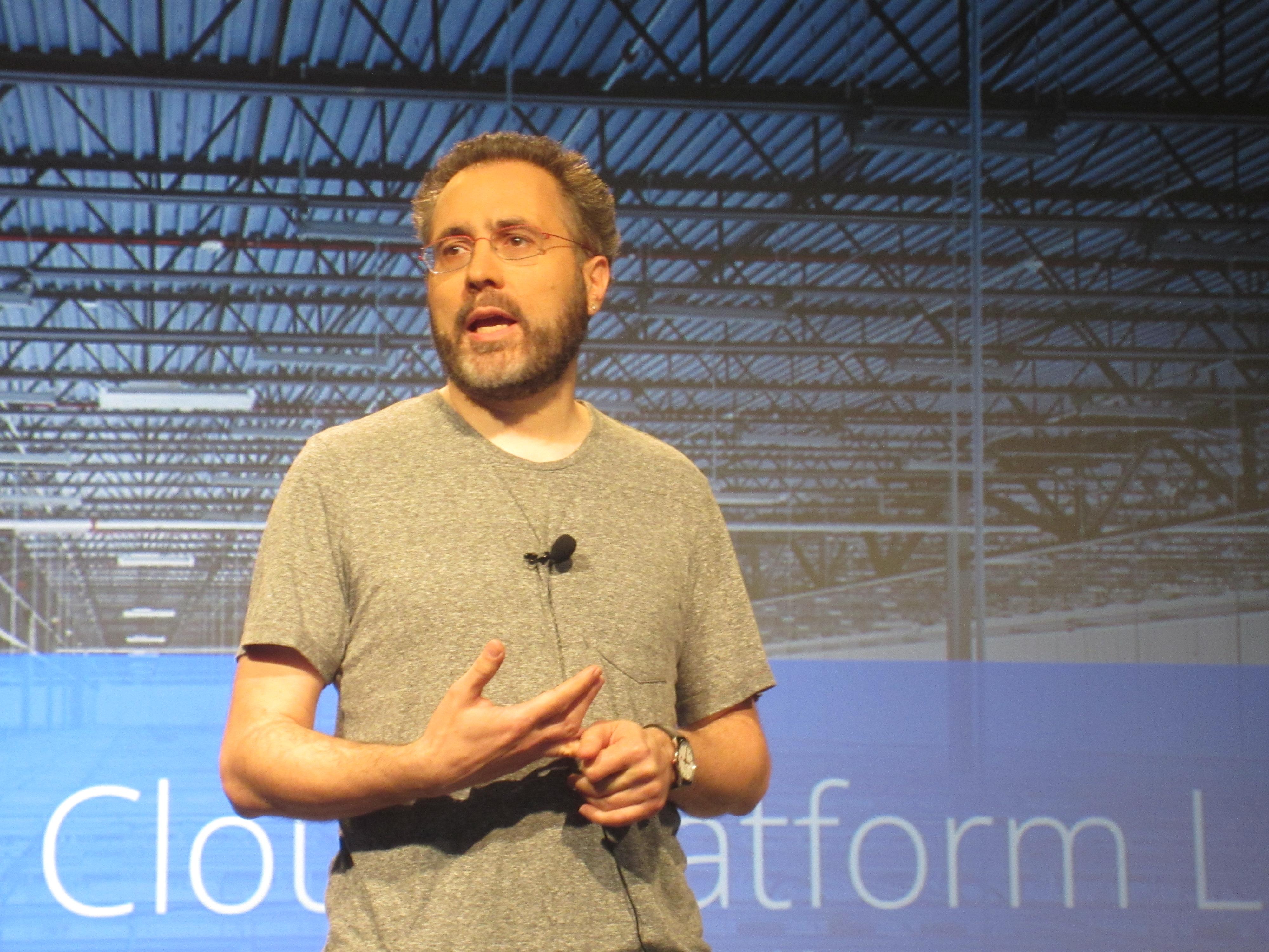 Urs Hölzle, Google's SVP of  technical infrastructure.