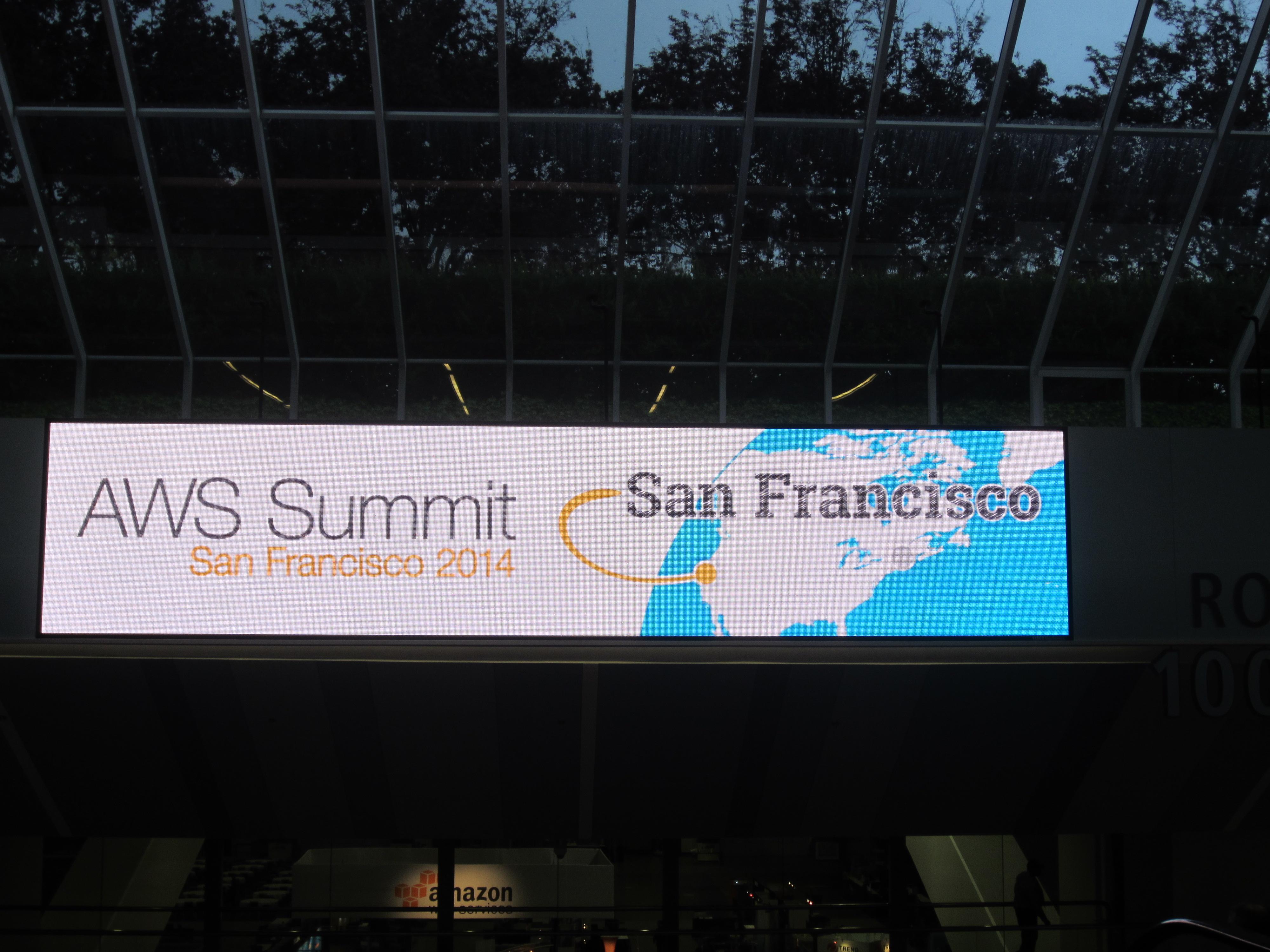 AWS Summit San Francisco