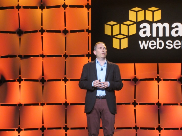 Amazon SVP Andy Jassy said Germany would be a logical spot for new AWS region.