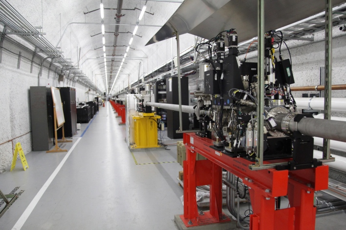 SLAC Linac Coherent Light Source X-ray laser. Photo by Signe Brewster/Gigaom
