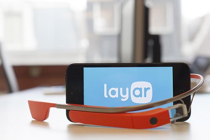 layar and glass