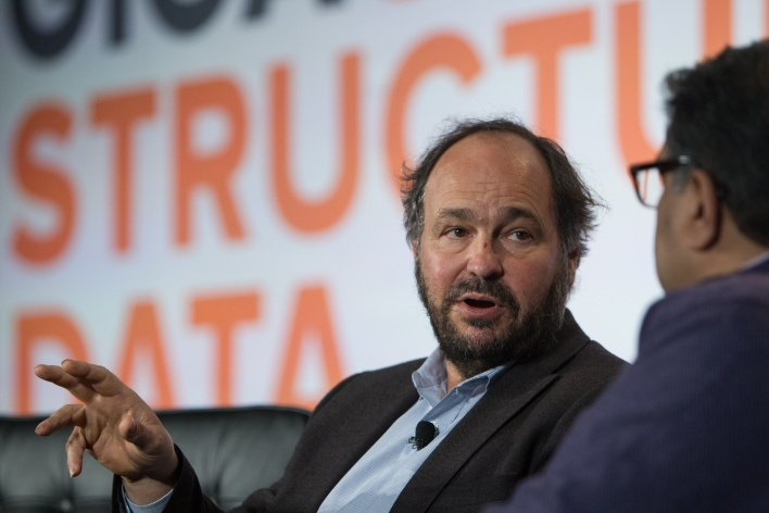 Paul Maritz at Structure Data 2014. (© Photo by Jakub Mosur).