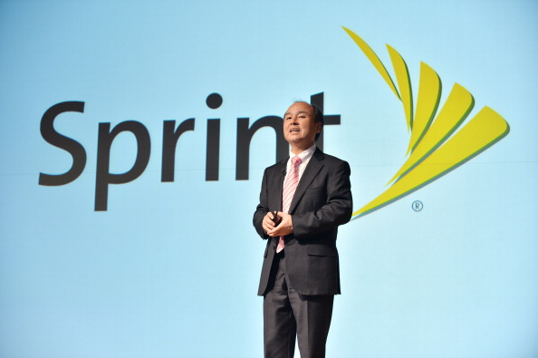 Japan's SoftBank Corp. founder and President Masayoshi Son speaks during a press briefing to announce the company's financial results in Tokyo on February 12, 2014. SoftBank said February 12 its nine-month net profit soared 58 percent thanks to strong iPhone sales, but third-quarter earnings suffered because of losses in its newly acquired Sprint Nextel unit. KAZUHIRO NOGI/AFP/Getty Images