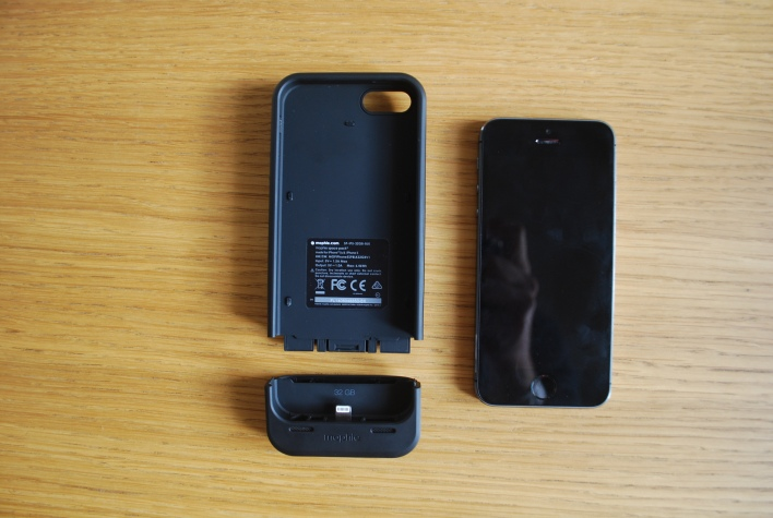 Mophie Space Pack open