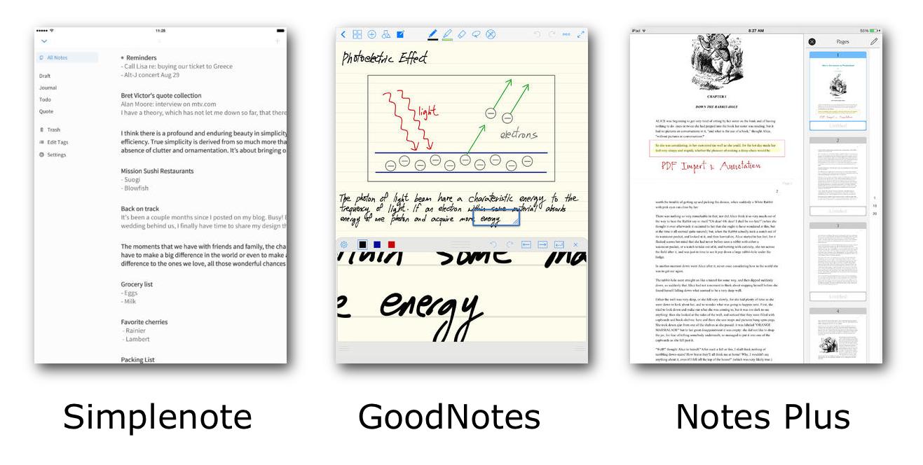 Note App Screenshots