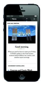NYT Now app