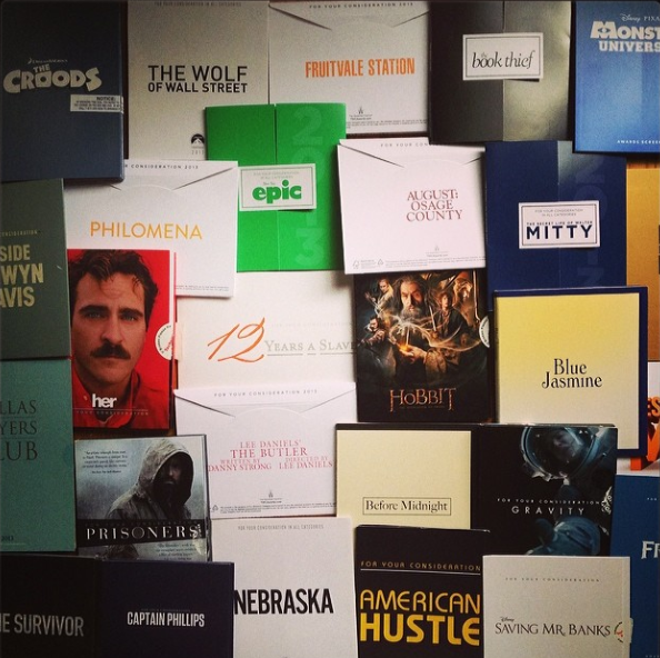oscar screeners 2014