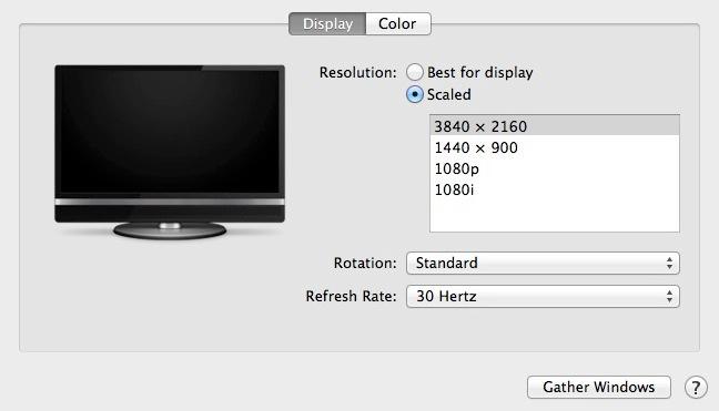 osx 10-9-3 display scaling