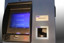 Robocoin ATMs include a palm scanner and the choice to buy or sell Bitcoin. Photo courtesy of Robocoin