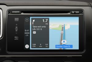 Apple's CarPlay system (source: Apple)