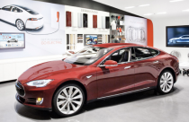 Tesla's Garden State Plaza store in New Jersey