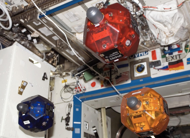 NASA SPHERE robots