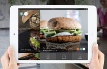Yummly's recipe search app on the iPad (source: Yummly)