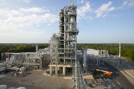 KiOR's plant in Columbus, Mississippi