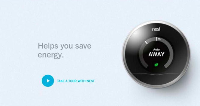 Nest ad screenshot