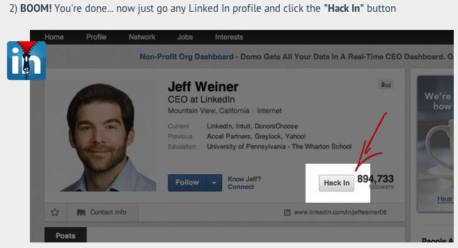 Hack In screenshot