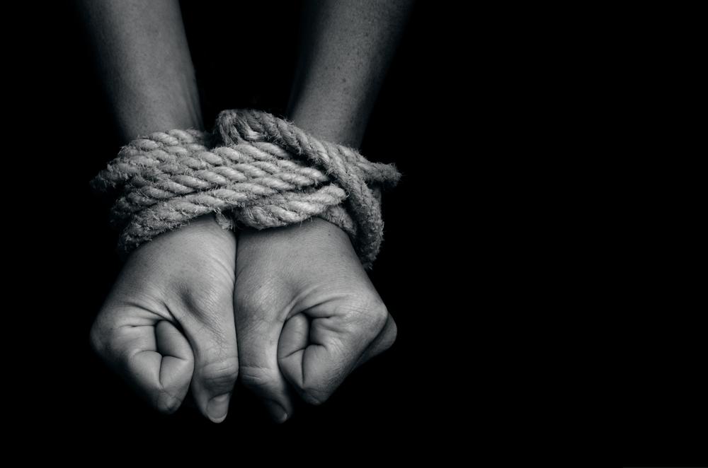 hands tied exploitation