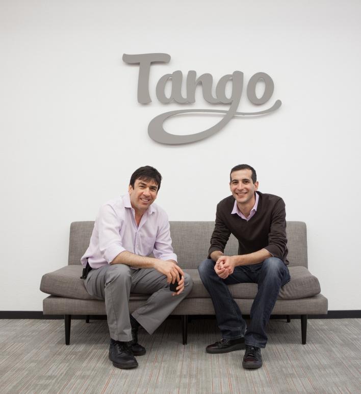 Tango founders Uri Raz and Eric Setton (source: Tango)